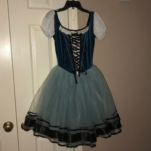 """Village Princess"" Curtain call ballet costume"